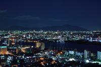 北九州の夜景 - こんな日は空を見上げてⅡ