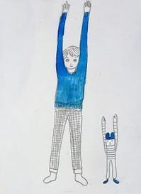 ラジオ体操 - たなかきょおこ-旅する絵描きの絵日記/Kyoko Tanaka Illustrated Diary