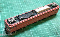 TOMIX EF8181お召塗装に常磐無線アンテナ跡を再現する - 鉄道模型の小部屋