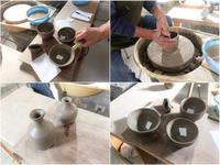 本日の陶芸教室 Vol.582 - 陶工房スタジオ ル・ポット