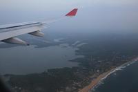 コロンボ上空  ラグーンの国へ - スクンビット総合研究所 - Sukhumvit Research Institute