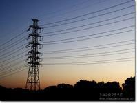 【ゆ】夕方鉄塔:ゆうがたてっとう(予告投稿) - ネコニ☆マタタビ