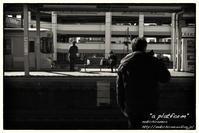 """""""a platform"""" - ~まきち写真工房~"""