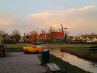 オランダ観光@ザーンセスカンス - からっ風にのって♪