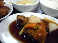 これまた美味い!角煮酢豚〔ちょもらんま/中国料理/福島〕 - 食マニア Yの書斎 ※稀に音マニア Yの書斎