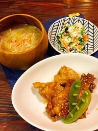 鶏手羽元の甘酢煮 - Lammin ateria