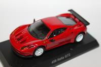 1/64 Kyosho Ferrari 12 458 Italia GT2 - 1/87 SCHUCO & 1/64 KYOSHO ミニカーコレクション byまさーる