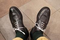 黒い靴と淡い期待。 パラブーツ シャンボード Nuit (ファッション・ビューティ部門) - 今日も晴れて幸せ!