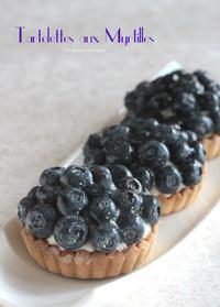 ブルーベリーたっぷり。タルトレットでコーヒータイム - Tortelicious Cake Salon