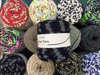 【追】ズパゲッティではない、そんなような編み糸というか、裂き布というか、編み物用にニットジャージーを裂いたもの - おさや糸店