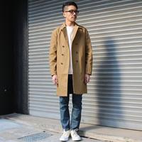 素材とスッキリとしたディテールのトレンチコート。 - AUD-BLOG:メンズファッションブランド【Audience】を展開するアパレルメーカーのブログ