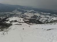大人気の伊吹山でテレマーク練習 - 山にでかける日