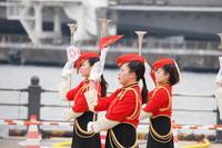 横浜消防出初式2017 消防音楽隊ドリル演技 3 - mystically photograph
