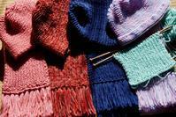 ■只今手編みに夢中!①便送付分【今年のプレゼントは手編に決めた!➡&届きました画像も来てます♪ 】 - 「料理と趣味の部屋」