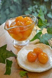 金柑の甘露煮 - 調布の小さな手作りお菓子・パン教室 アトリエタルトタタン