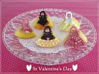 バレンタインに・・バームクーヘンdeお洒落バッグ☆「パン・スイーツ部門」 - パンのちケーキ時々わんこ