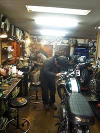 土曜日の授業風景 - Vintage motorcycle study
