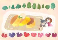 幸せのパンケーキ - pomme's cafe