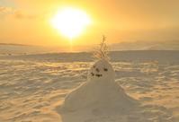 ネコと雪だるま - 好きな写真と旅とビールと