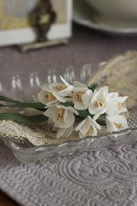 布花づくり 水仙  - 暮らしを紡ぐ