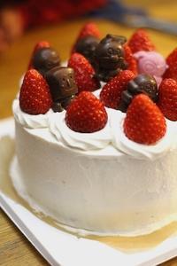 3歳のお誕生日ケーキ - ぱん手帖