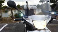 アドレスV125Gにポジションランプを付けてみる? - 近江ポタレレ日記(琵琶湖)自転車二人旅