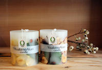 Botanical Candle / YoakenoAkari - bambooforest blog