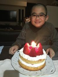 息子12歳の誕生日 - のぽ家の徒然日記