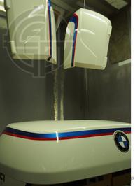 BMW R1200RT 100周年カラー ペイント - カスタムペイント・スタジオグラッデン作業日誌