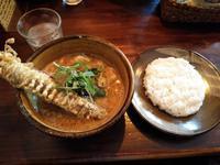 大きなゴボウが入ったスープカレー(ソウルストア (SOUL STORE) :札幌市中央区北1西18) - eihoのブログ