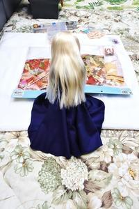 せっちゃんとお勉強・・・第三回(開封の儀 裾引き着物) - 屋根裏部屋の休日