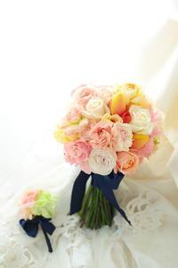 漢気な生徒さんから、ご友人への手作りのブーケを ホテルウェスティン東京様へ&1DAYレッスン - 一会 ウエディングの花