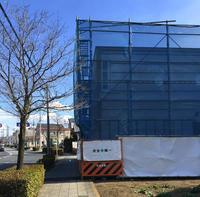 赤門セミナー太田校 壁 - 鈴木隆之建築設計事務所 blog