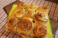 シナモンロール生地でアレンジ - Smiling Bread
