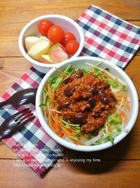 1.31 チリコンカン丼弁当 - YUKA'sレシピ♪