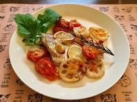 鯛のオーブン焼き - パン教室  ローズのマリ
