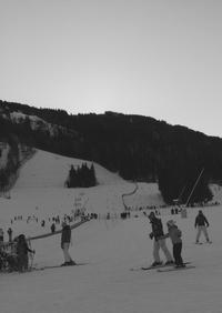 初スキー - イタリア暮らし 笑といっしょに