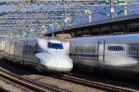 新幹線を小田原駅で撮影 - 飛行機&鉄道写真館