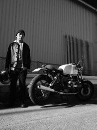 井上 彰之 & BMW R100RS(2016.12.17) - 君はバイクに乗るだろう