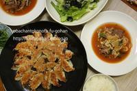 おうちバルは、餃子作ったの~(*^^)v - おばちゃんとこのフーフー(夫婦)ごはん