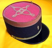 フランス陸軍大尉・ケピ(軍帽) - 軍装品・アンティーク・雑貨 パビリオン