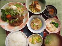 和風ハンバーグ★(^^♪・・・・・700円ランチ - 日だまりカフェ