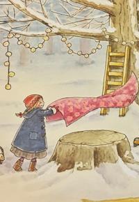 雪の森で楽しいことが…❄️✨❄️ - ままごと日記
