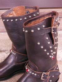 Attractions Lot.268 ENGINEER BOOTS(HORSE BUTT)エンジニアブーツスタッズカスタム - ROCK-A-HULA Vintage Clothing Blog