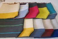 裂き織り10枚勢ぞろい - 手織とペットと静かな暮らし oricago