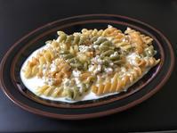 マカロニのクリームソース - ぼっちオバサン食堂