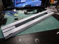 アオシマのDD51 飾り台の下地 - Sirokamo-Industry