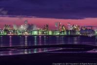姫路工場夜景 2 - シセンのカナタ