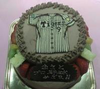 キャラクターケーキ☆タイガースユニフォーム/エグゼイドデンジャラスゾンビ - cafe Beansの・・・・・。