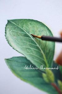 緑の絵の具は使わない - Atelier Charmant のボタニカル・水彩画ライフ